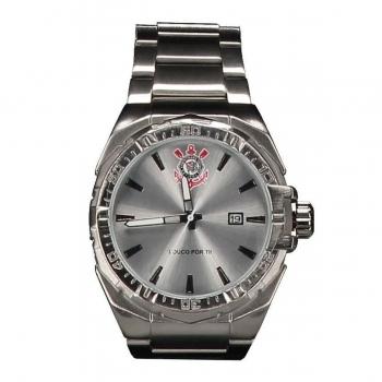 Technos Corinthians Badge Silver Watch