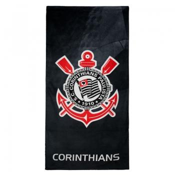 Dohler Corinthians Stamped Black Towel