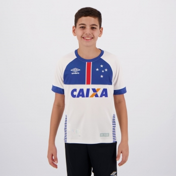 Umbro Cruzeiro Away 2018 Blar Vikingur Kids Jersey