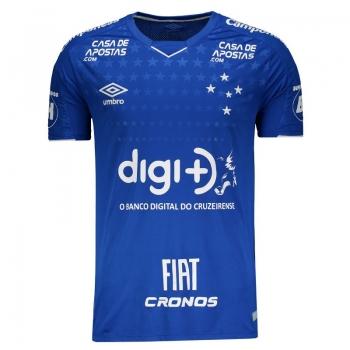 Umbro Cruzeiro Home 2019 Sponsor Jersey