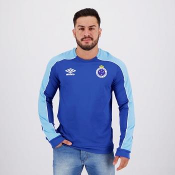Umbro Cruzeiro Training 2019 Blue Sweatshirt