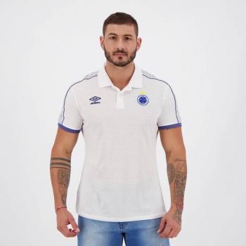 Umbro Cruzeiro Travel 2019 White Polo Shirt