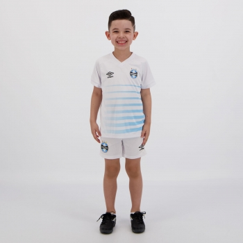 Umbro Grêmio 2021 Away Kids Kit