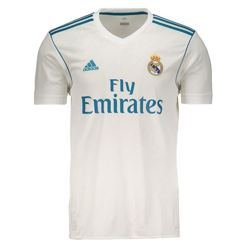 separation shoes d46bd 7beef Adidas Real Madrid Home 2018 FIFA Jersey 7 Ronaldo - FutFanatics