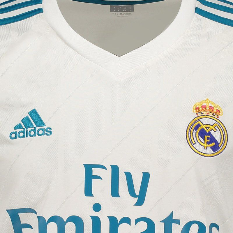 separation shoes 46b7d 3887c Adidas Real Madrid Home 2018 FIFA Jersey 7 Ronaldo - FutFanatics