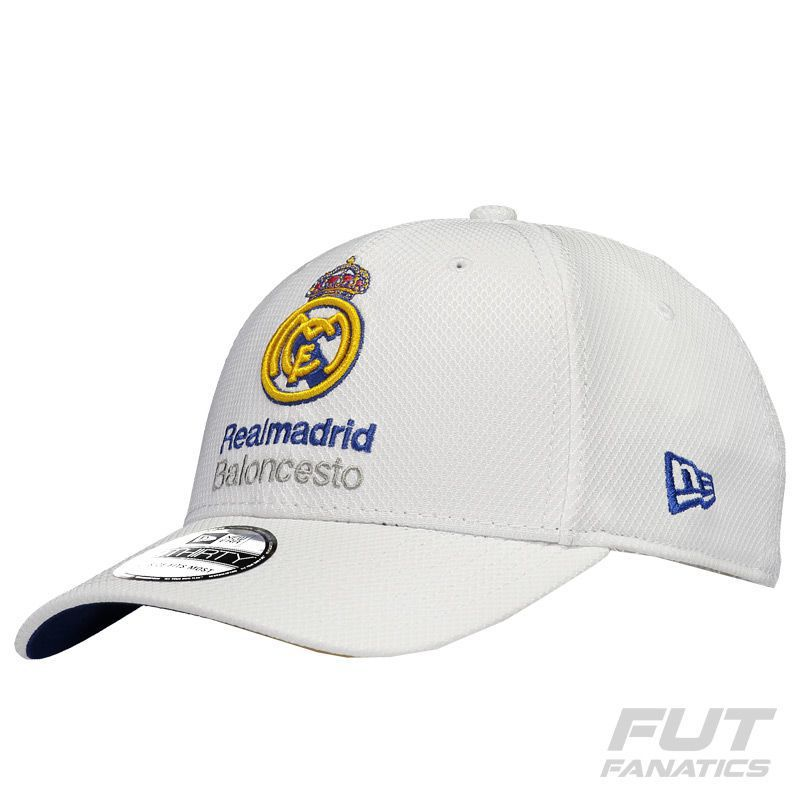 c479f313b74 New Era Real Madrid 3930 White Cap - FutFanatics