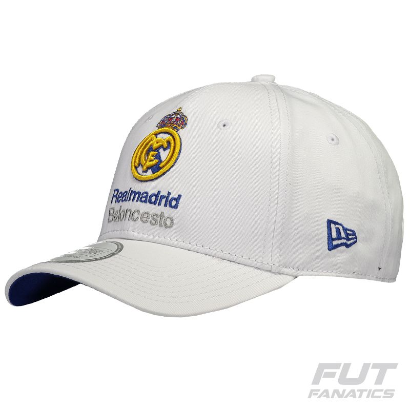 1e309ee47d4 New Era Real Madrid 9Forty White Cap - FutFanatics