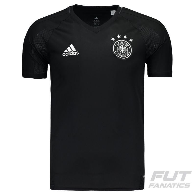 Adidas Germany Training 2017 Black Jersey - FutFanatics 6aca3df1f