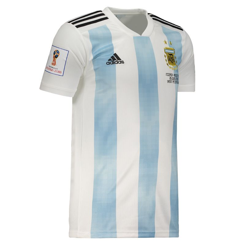 9a2118be0fa86 Adidas Argentina Home 2018 Patch + Matchday Jersey - FutFanatics