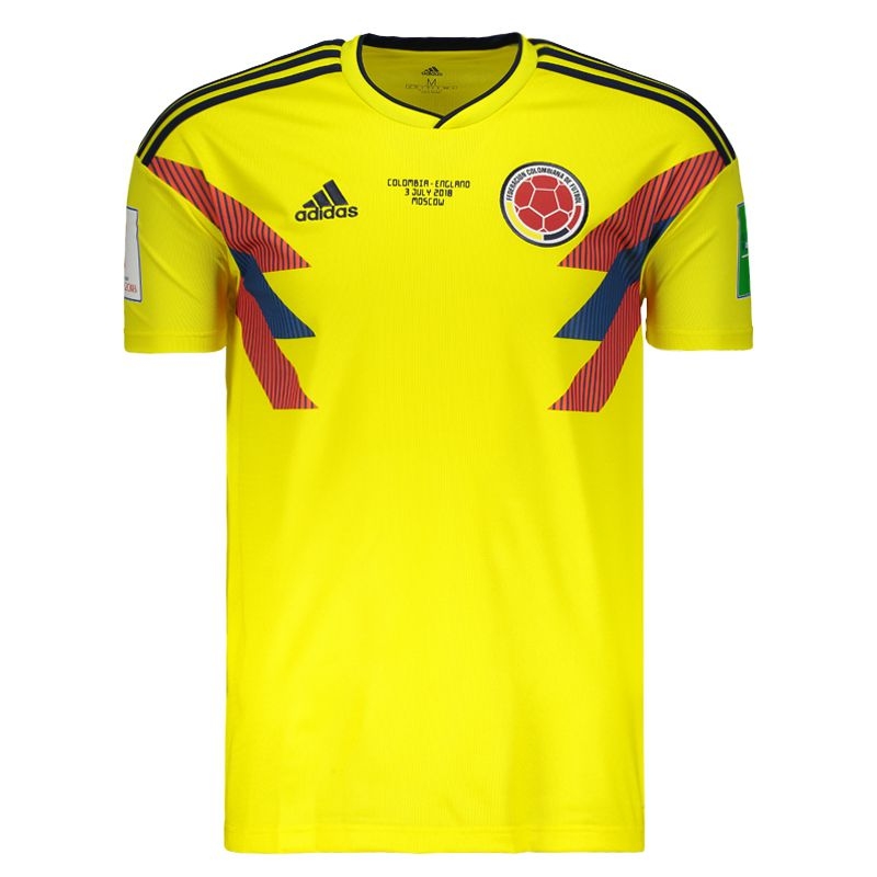 d21d4149452 Adidas Colombia Home 2018 Patch + Matchday Jersey - FutFanatics
