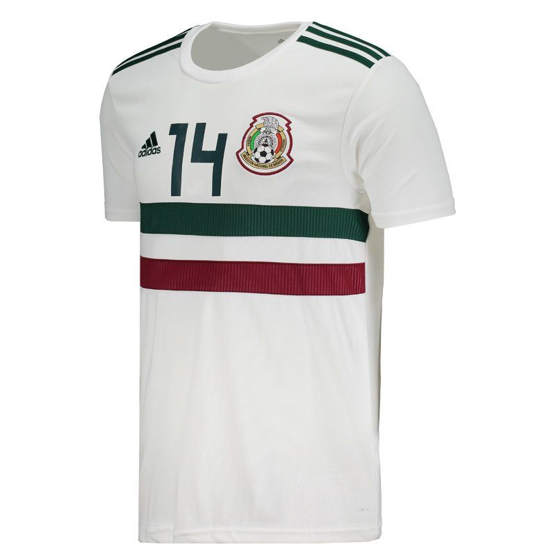 dd8b98bc1 Adidas Mexico Away 2018 Jersey Chicharito 14 - FutFanatics