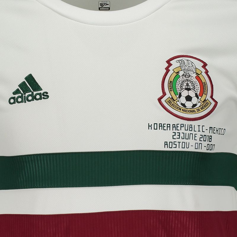 Adidas Mexico Away 2018 Patch Matchaday Jersey