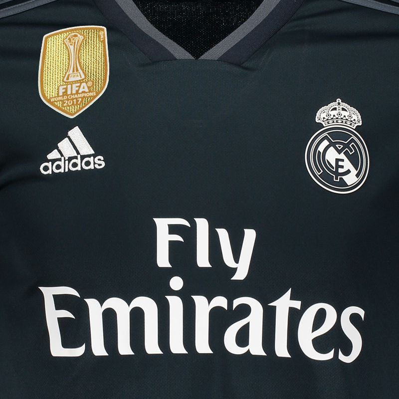 huge selection of c4847 d17ed Adidas Real Madrid Away 2019 Patch Jersey
