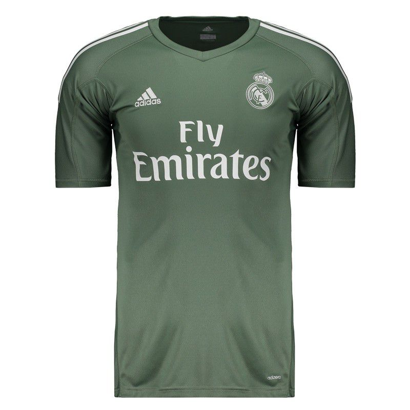 official photos 58275 d5b60 Adidas Real Madrid GK 2018 Green Jersey