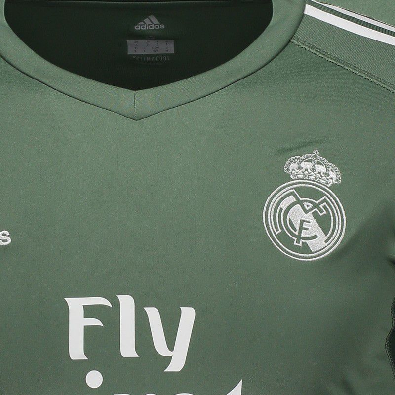 official photos feb7f f5ea4 Adidas Real Madrid GK 2018 Green Jersey