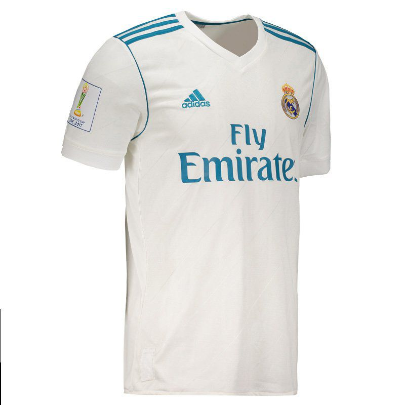 best sneakers 5d825 16738 Adidas Real Madrid Home 2018 Club World Cup Jersey