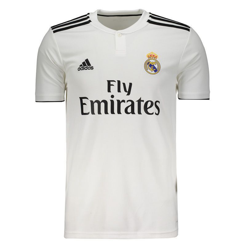 sports shoes 2e10c ef5a4 Adidas Real Madrid Home 2019 Jersey