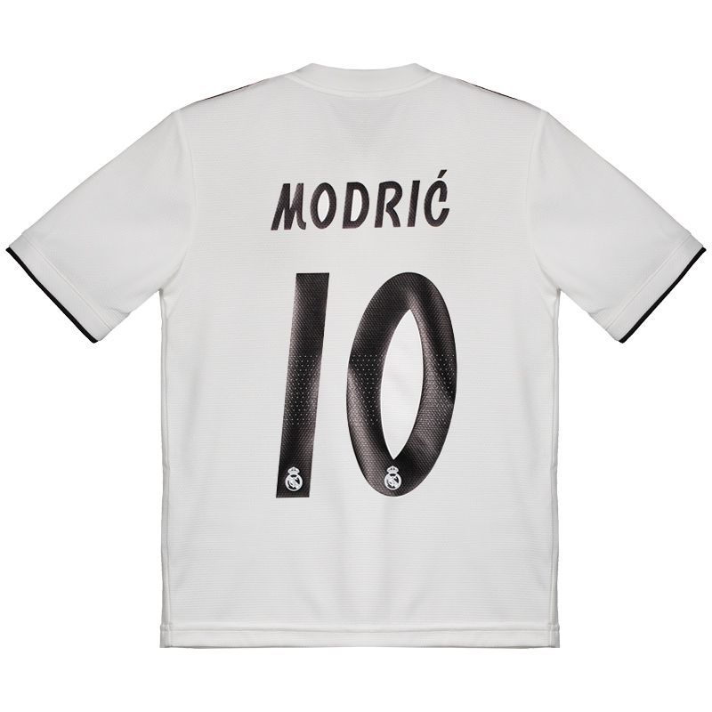 sale retailer 3bb8d a8822 Adidas Real Madrid Home 2019 10 Modric Kids Jersey