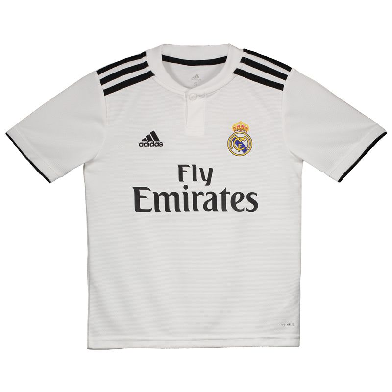 7d7384ce42 Adidas Real Madrid Home 2019 Kids Jersey - FutFanatics