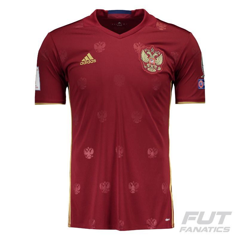 Adidas Russia Home 2016 Qualifiers Jersey