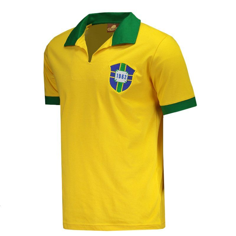 be51c7600e4c6 Brazil 1962 Retro Polo Shirt 7 - FutFanatics - Buy Original Soccer Jerseys  teams from Brazil and Europe