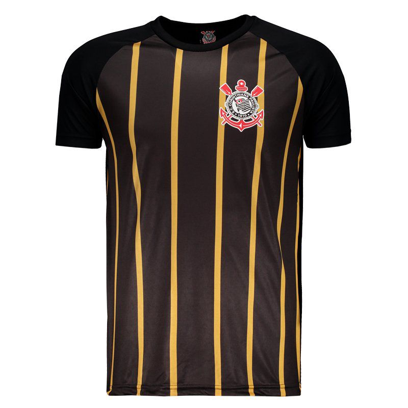 Corinthians Golden Black T-Shirt - FutFanatics 4d4decc015930