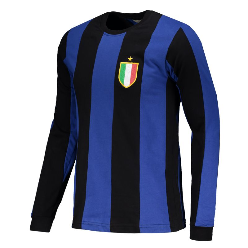 bad86b4cbe5 Inter Milan Retro 1966 Long Sleeves Shirt