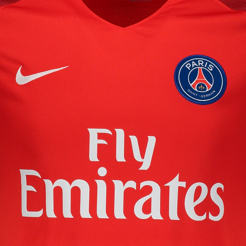 hot sale online 00426 a029e Nike PSG Away 2017 Jersey - FutFanatics