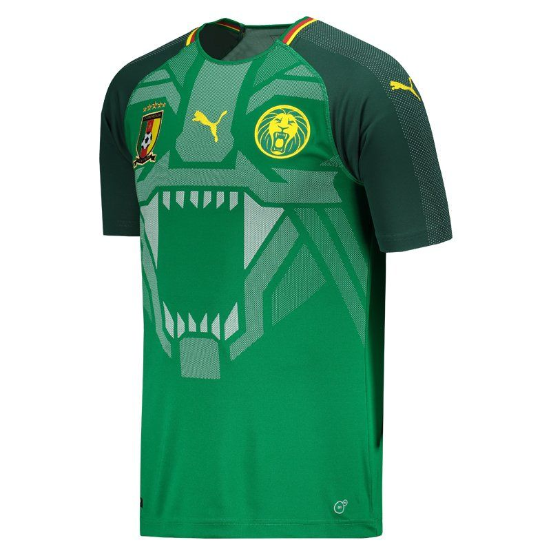 new concept db7ae 5c694 Puma Cameroon Home 2018 Jersey