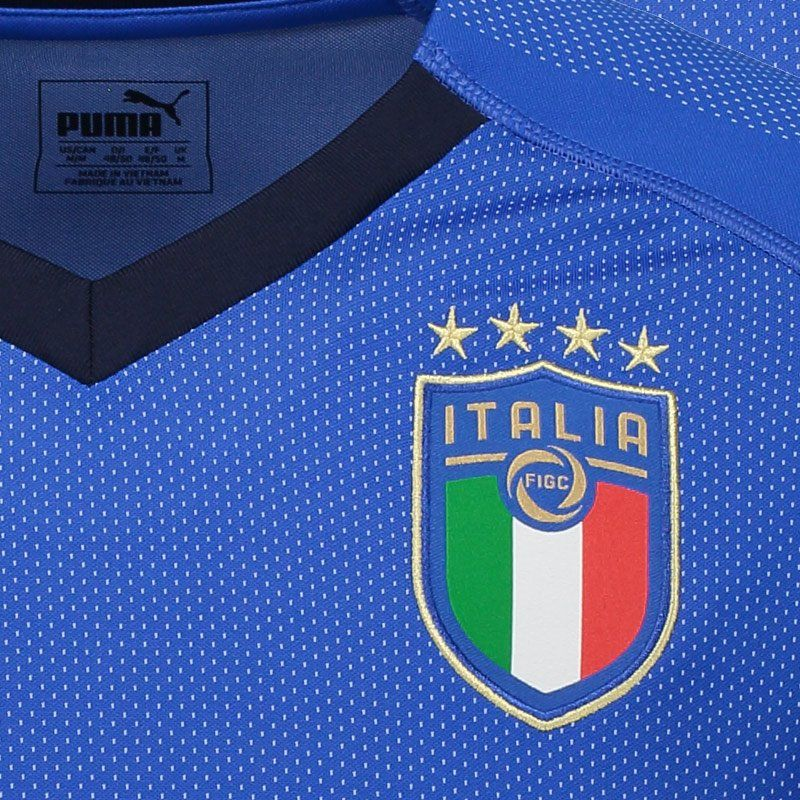 Individualidad Química aterrizaje  Puma Italy Home 2018 Jersey 10 Insigne