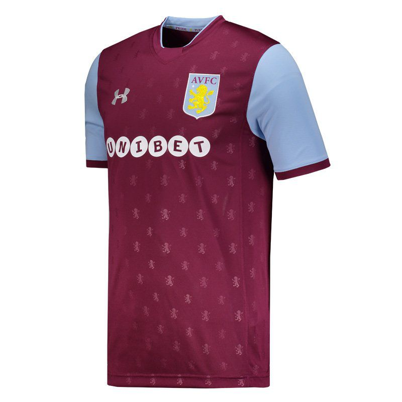 5436fbfd1555f Under Armour Aston Villa Home 2018 - FutFanatics