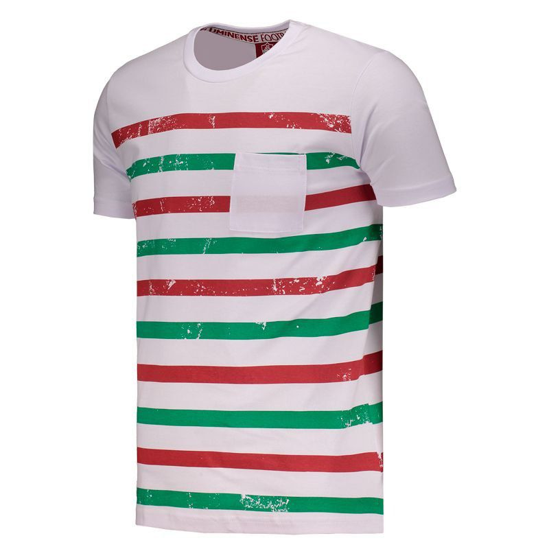 fada361c25 Fluminense Striped T-Shirt - FutFanatics photo