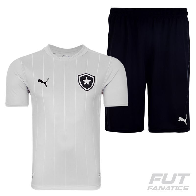 39f12308787f8 Puma Botafogo Third 2015 Jersey + Shorts Kit - FutFanatics