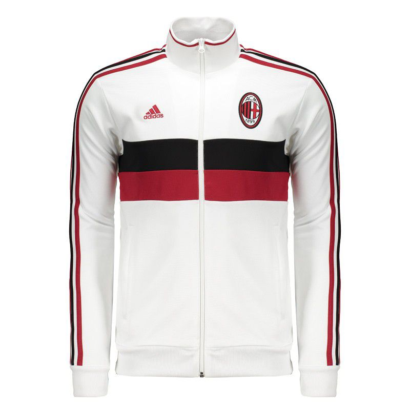 Cooperación Instituto neutral  Adidas AC Milan 3s White Jacket