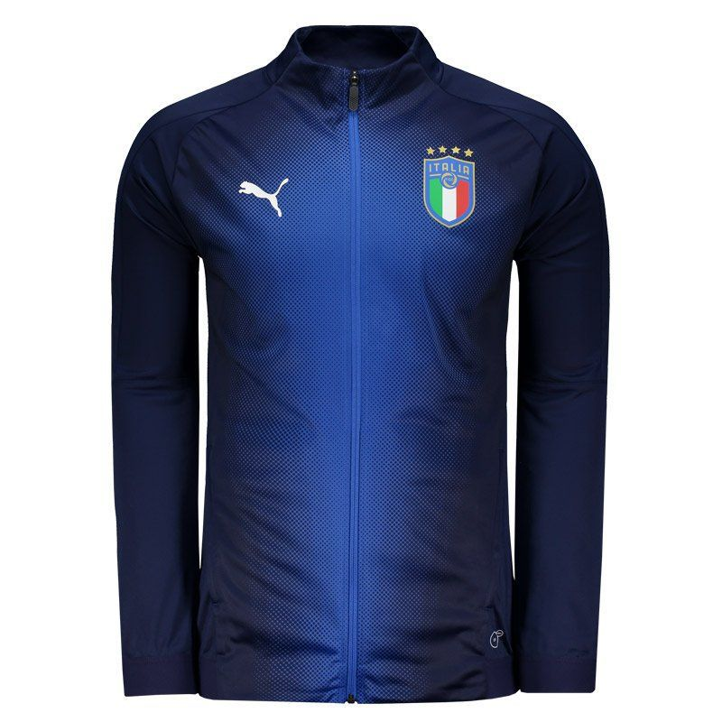 Arquitectura Completo exhaustivo  Puma Italy Pre Match 2018 Jacket