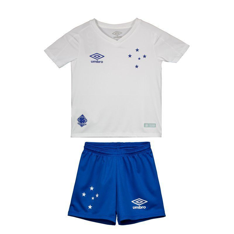 ad05c33844e60 Umbro Cruzeiro Away 2019 Kids Kit - FutFanatics