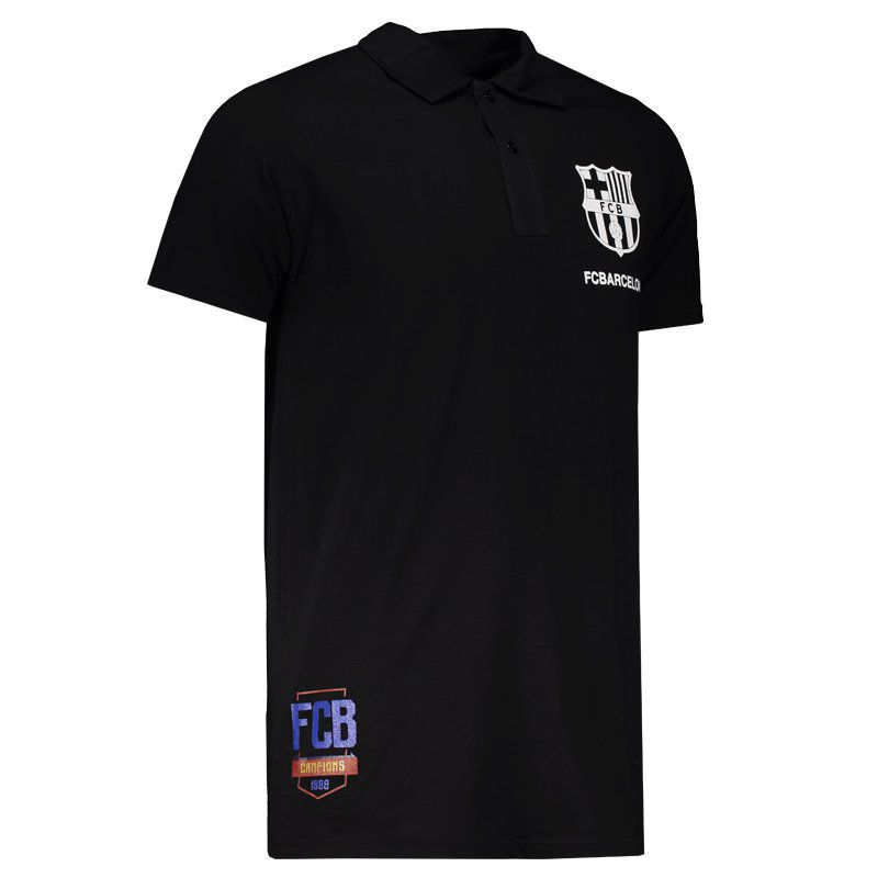 98490538f5e Barcelona 1899 Black Polo Shirt - FutFanatics