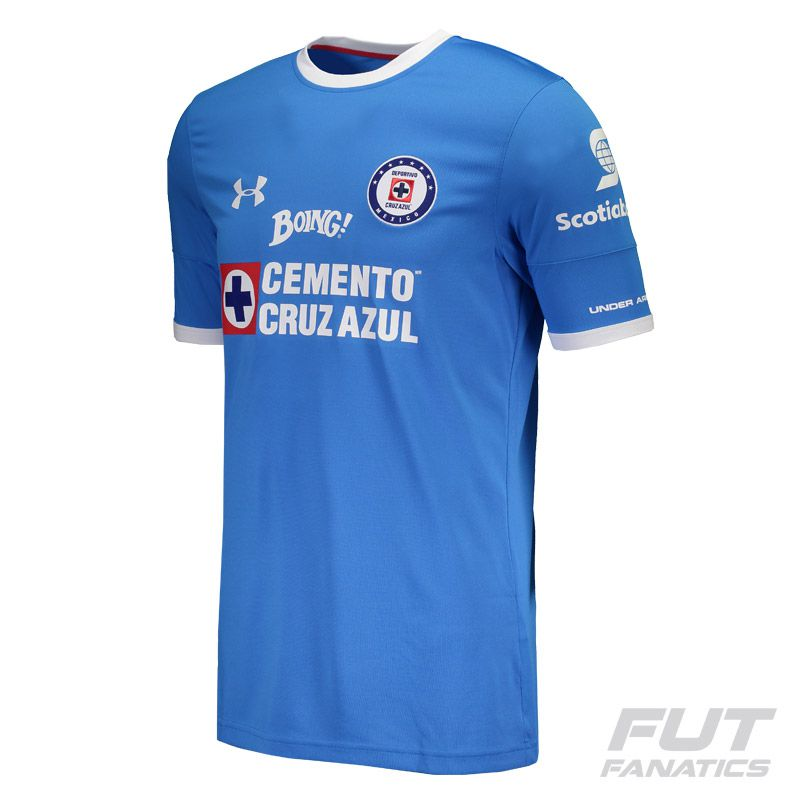 a1946931 Under Armour Cruz Azul FC Home 2017 Jersey - FutFanatics