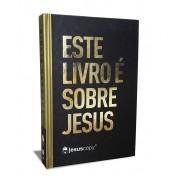 Bíblia Este livro é sobre Jesus - LETRA GRANDE - NAA