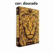 PRÉ-VENDA: Bíblia Leão Luxo - NVI - Capa Flexível