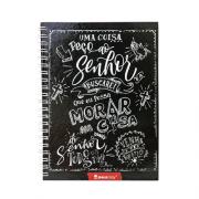 Caderno JesusCopy - Capa Dura com Espiral - 1 matéria