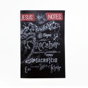 JESUSNOTES - Caderno de Anotações para Pregações (Individual)