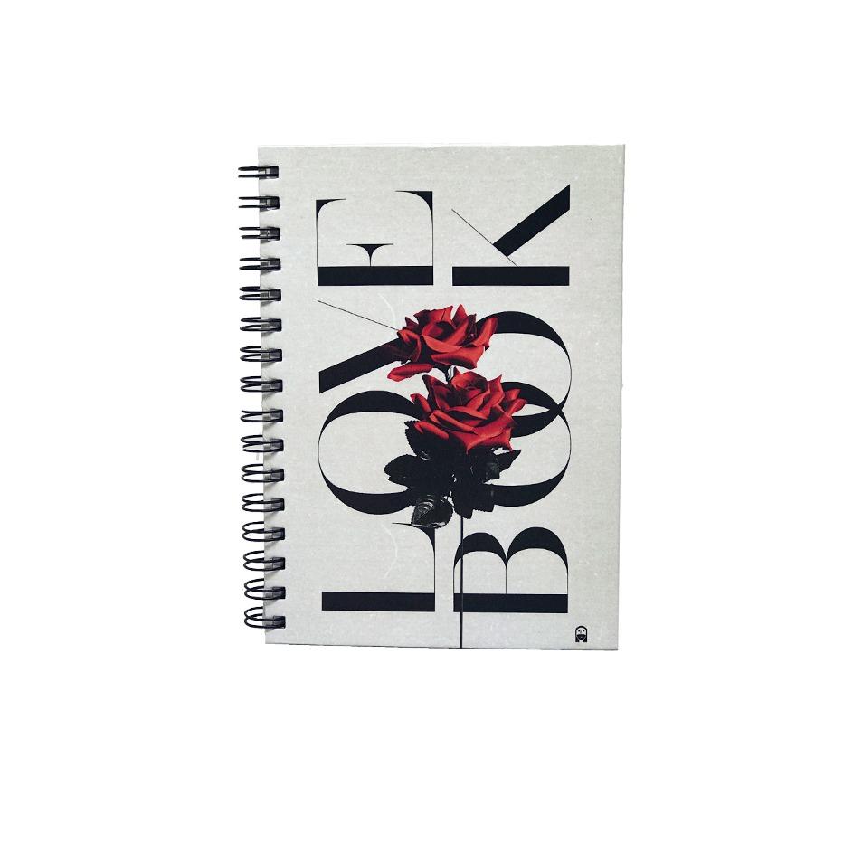 Agenda Love Book Rosa