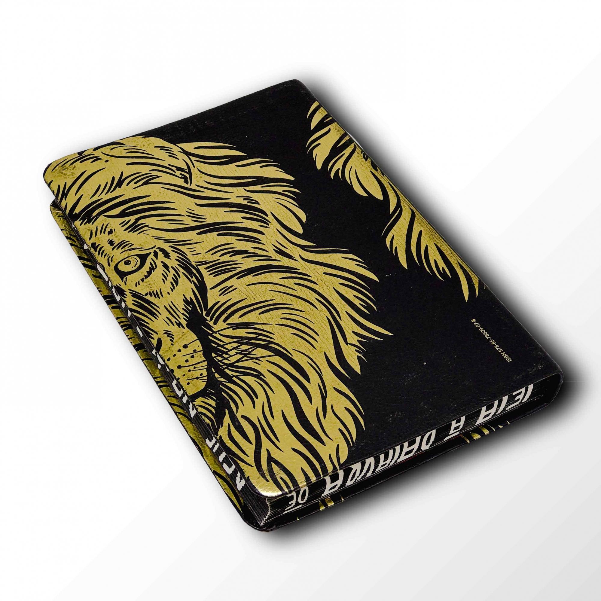 Bíblia Leão Luxo - NVI - Capa Flexível