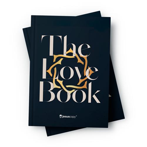 Bíblia Love Book Coroa (Livro do Amor) - NAA  - Loja JesusCopy