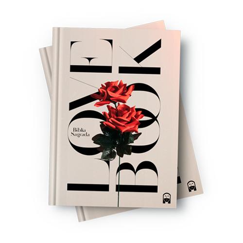 Bíblia Love Book Rosa (Livro do Amor) - NAA  - Loja JesusCopy