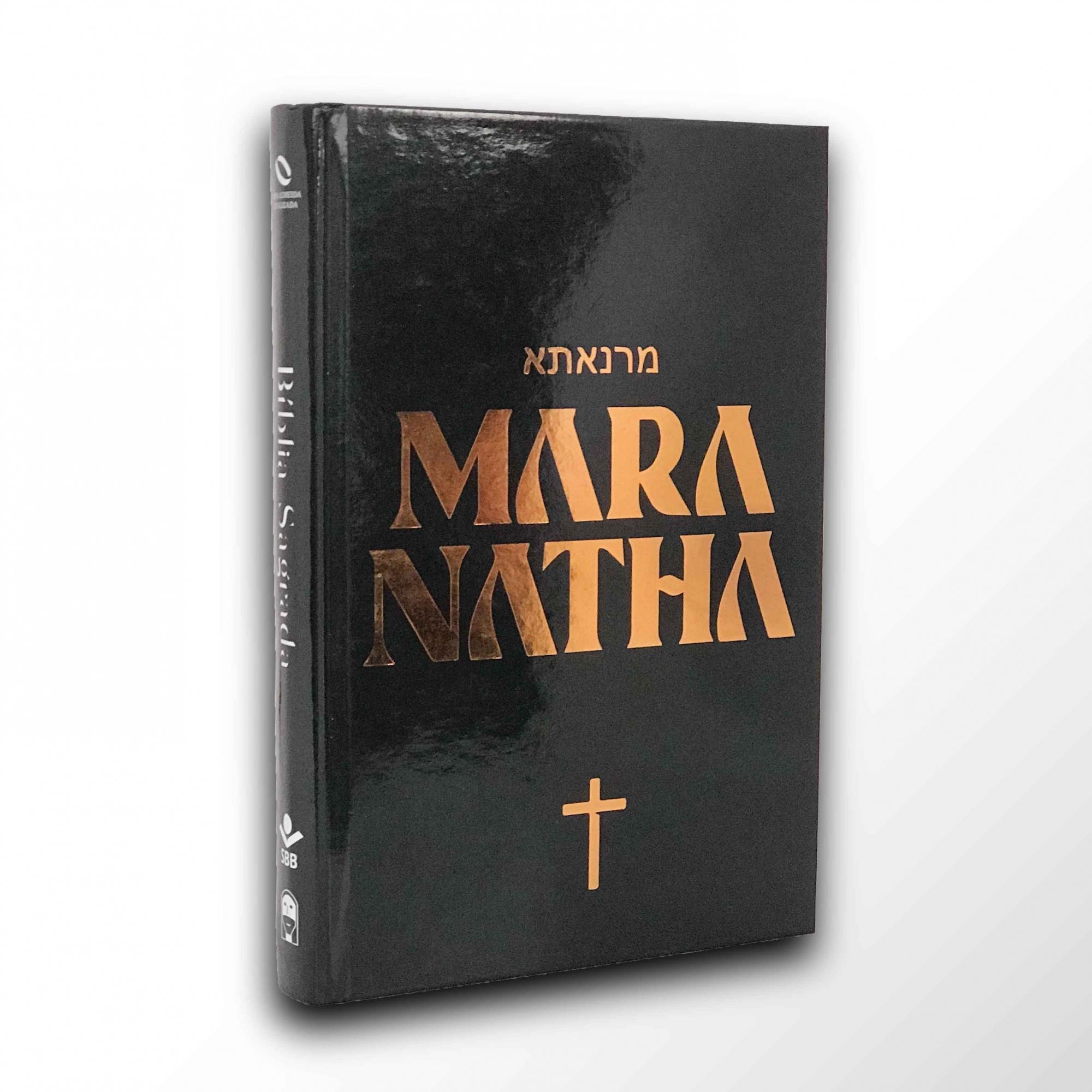 Bíblia Maranatha (Maranata) - NAA  - Loja JesusCopy