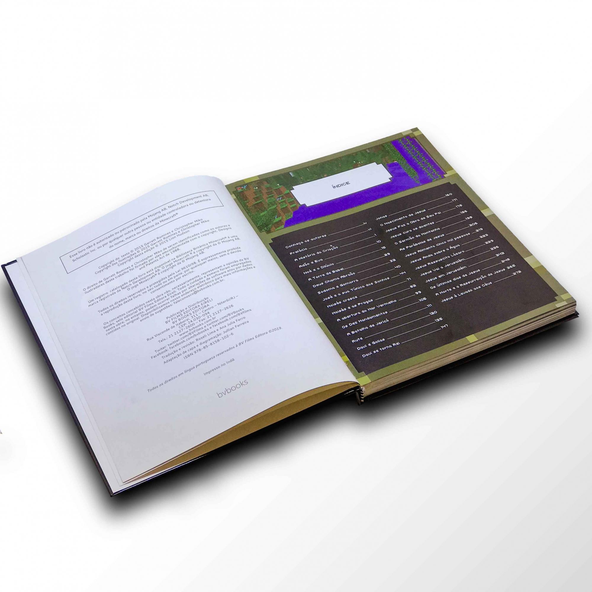 Bíblia Minecraft   - Loja JesusCopy