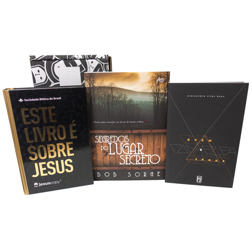 BOX LUGAR SECRETO - FRETE GRÁTIS  - Loja JesusCopy