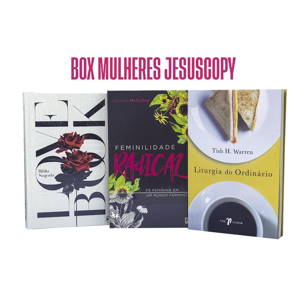 BOX MULHERES JESUSCOPY - Frete Grátis   - Loja JesusCopy